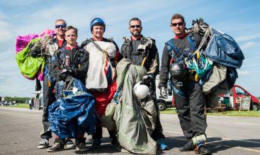 Parachute Display Team Photo