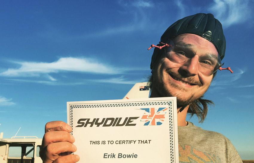 Eric Bowie 100th Jump
