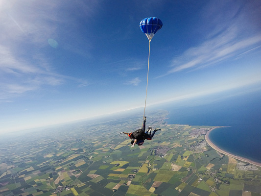 Skydive with a view