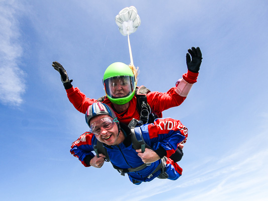 The Yorkshire Tandem Skydive Experience | Skydive GB