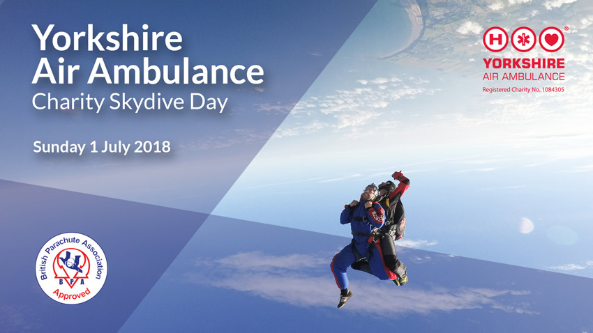 Yorkshire Air Ambulance Skydive Day