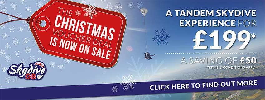 Christmas Gift Voucher Deal 2018