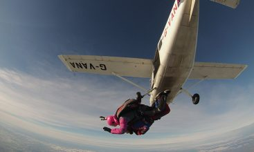 Winter Skydive