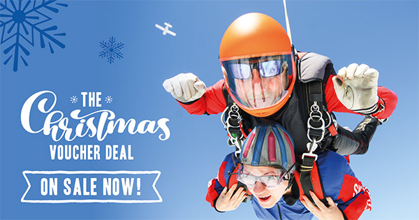 Christmas Skydive Gift Vouchers