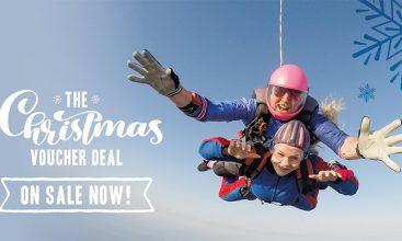 Skydive Gift Voucher for Christmas